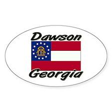 Dawson Georgia Oval Decal