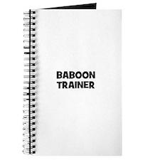 baboon trainer Journal