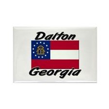 Dalton Georgia Rectangle Magnet