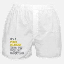 Public Relations Boxer Shorts