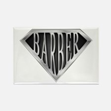 SuperBarber(metal) Rectangle Magnet