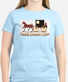 Amish Country Club Ash Grey T-Shirt