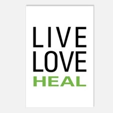 Live Love Heal Postcards (Package of 8)