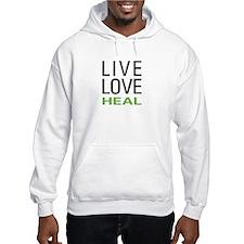 Live Love Heal Hoodie