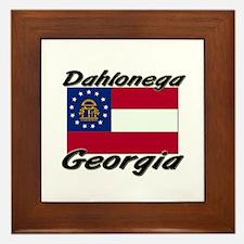 Dahlonega Georgia Framed Tile