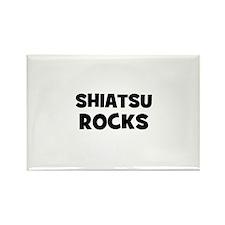 Shiatsu Rocks Rectangle Magnet