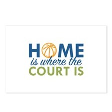 Home Is Where The Court Is Postcards (Package of 8