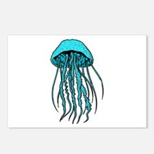 TENTACLES Postcards (Package of 8)
