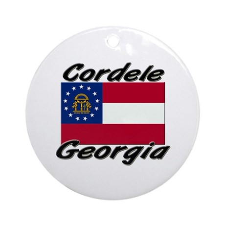 Cordele Georgia Ornament (Round)