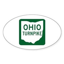 Ohio Turnpike Oval Decal
