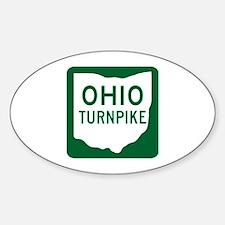 Ohio Turnpike Oval Decal