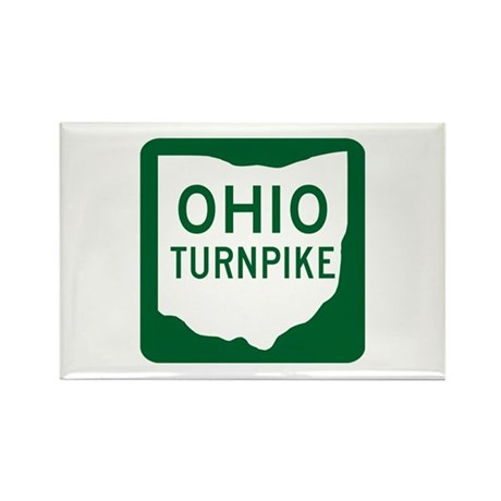 Ohio Turnpike Rectangle Magnet (100 pack)