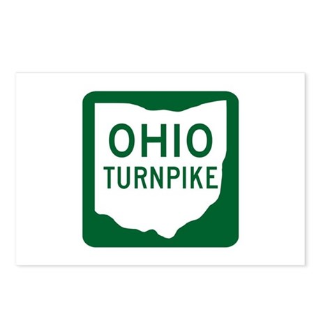 Ohio Turnpike Postcards (Package of 8)