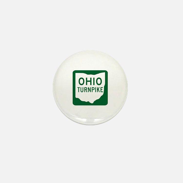 Ohio Turnpike Mini Button