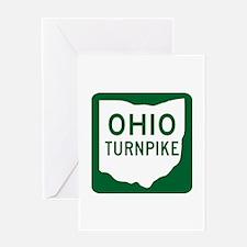 Ohio Turnpike Greeting Card