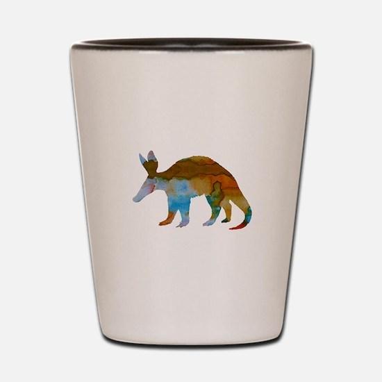 Aardvark Shot Glass