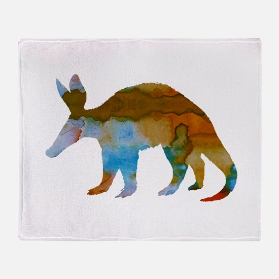 Aardvark Throw Blanket