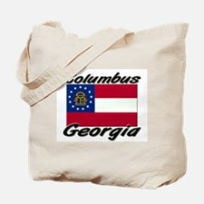 Columbus Georgia Tote Bag