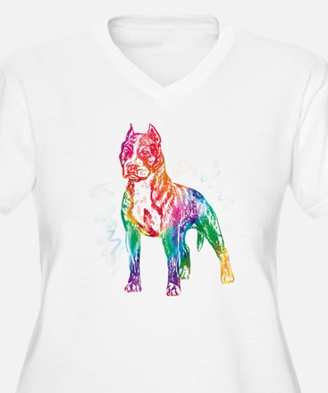 American Staffordshire Terrier Plus Size T-Shirt