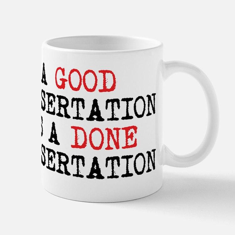Dissertation Mug