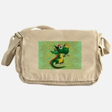 Baby Dragon Cute Cartoon Messenger Bag