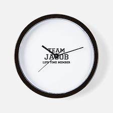 Team JACOB, life time member Wall Clock