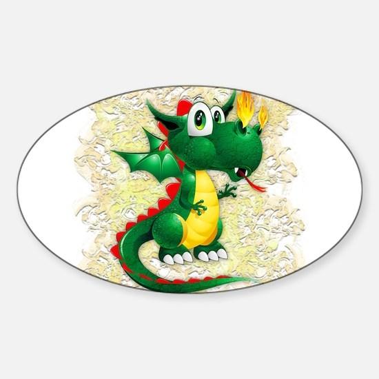 Baby Dragon Cute Cartoon Decal