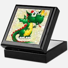 Baby Dragon Cute Cartoon Keepsake Box