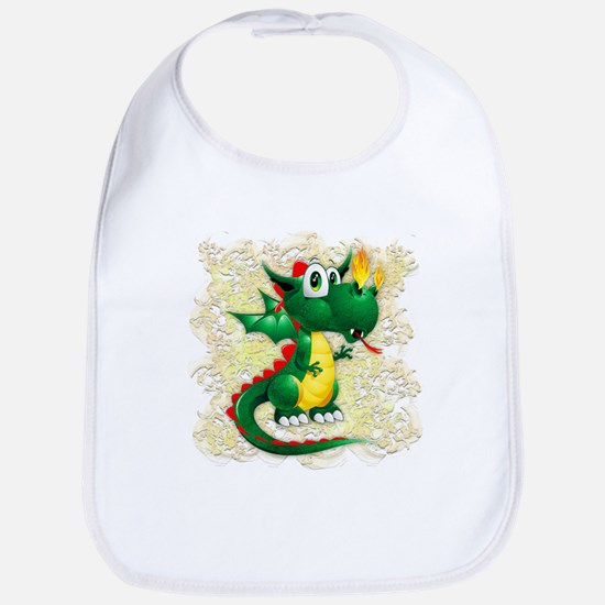 Baby Dragon Cute Cartoon Bib