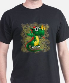 Baby Dragon Cute Cartoon T-Shirt