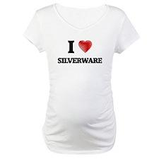 I Love Silverware Shirt