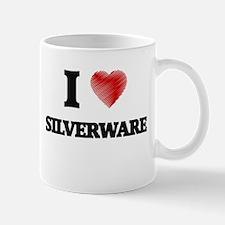 I Love Silverware Mugs