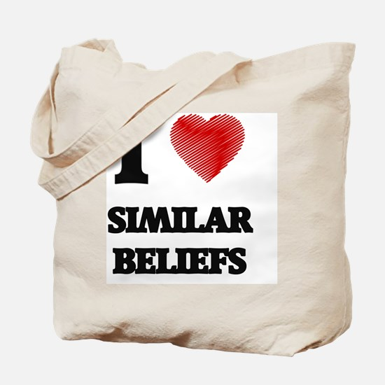 Cute Issues and beliefs Tote Bag