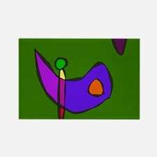 Minimalistic Expressionism Magnets