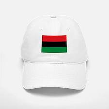 African American Flag - Red Black and Green Baseball Baseball Cap