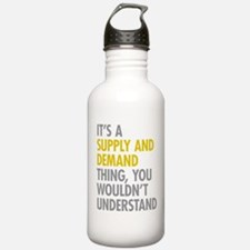 Supply And Demand Water Bottle