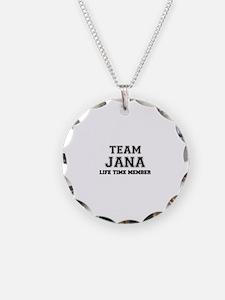 Team JANA, life time member Necklace