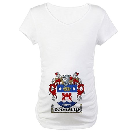 Donnelly Coat of Arms Maternity T-Shirt