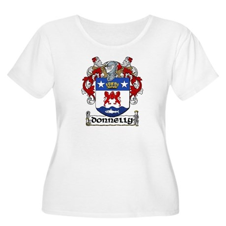 Donnelly Coat of Arms Women's Plus Size Scoop Neck