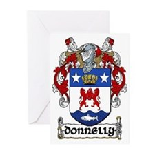 Donnelly Coat of Arms Greeting Cards (Pk of 20)