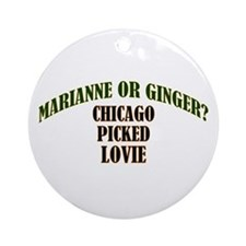 Lovie Ornament (Round)