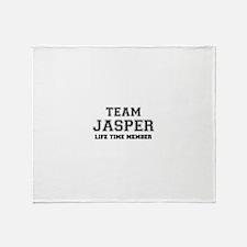 Team JASPER, life time member Throw Blanket