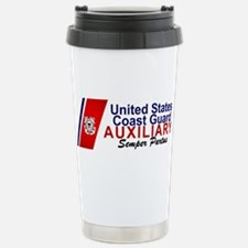 Cute Us coast guard auxiliary Travel Mug