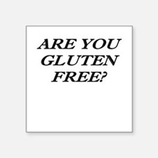 Gluten Free? Sticker