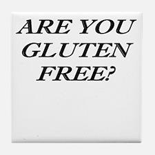 Gluten Free? Tile Coaster