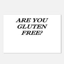 Gluten Free? Postcards (Package of 8)