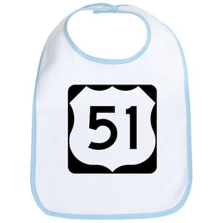 US Highway 51 Bib