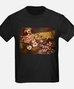 Cherry Tree in Gothic Paint T-Shirt