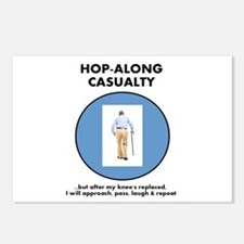 Hopalong Casualty till Knee Replacement Postcards