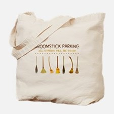 BROOMSTICK PARKING Tote Bag